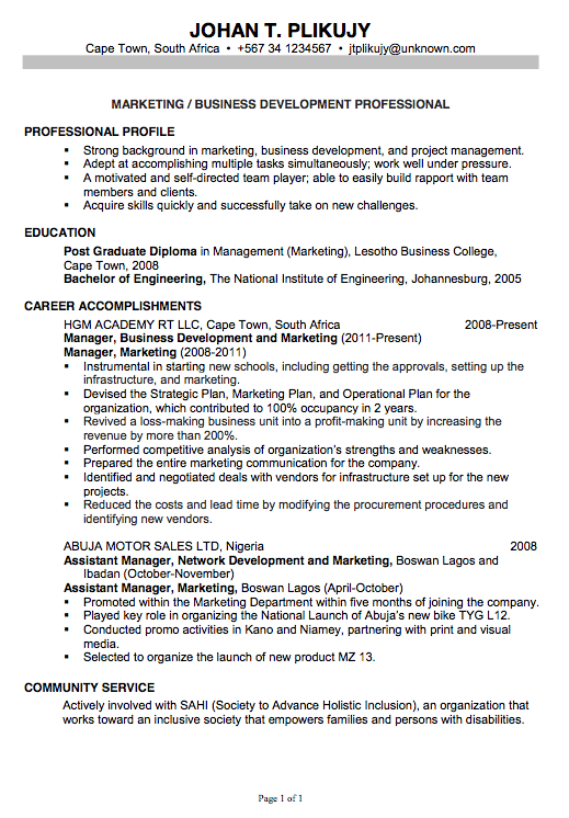 Accountant Resume Format Doc Resume For Accountant Word Format Dayjob  Sample Job Resume