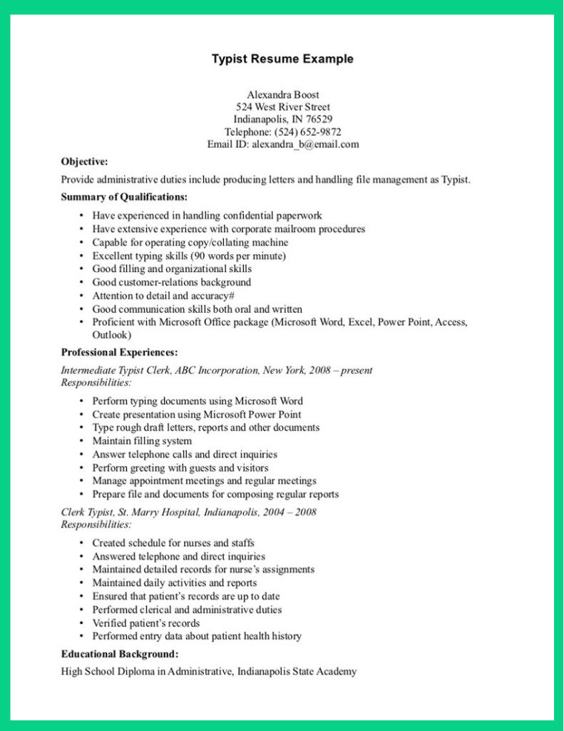 Medical Assisting Resume Job Samples  Resume Templates