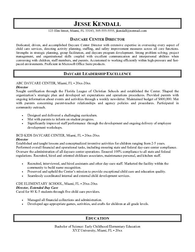 Nursing Resume Templates Microsoft Word Format  Director Of Nursing Resume
