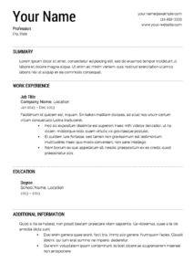 Resume-template-examples (4)