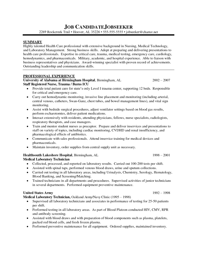 nursing resume sampled can medical times