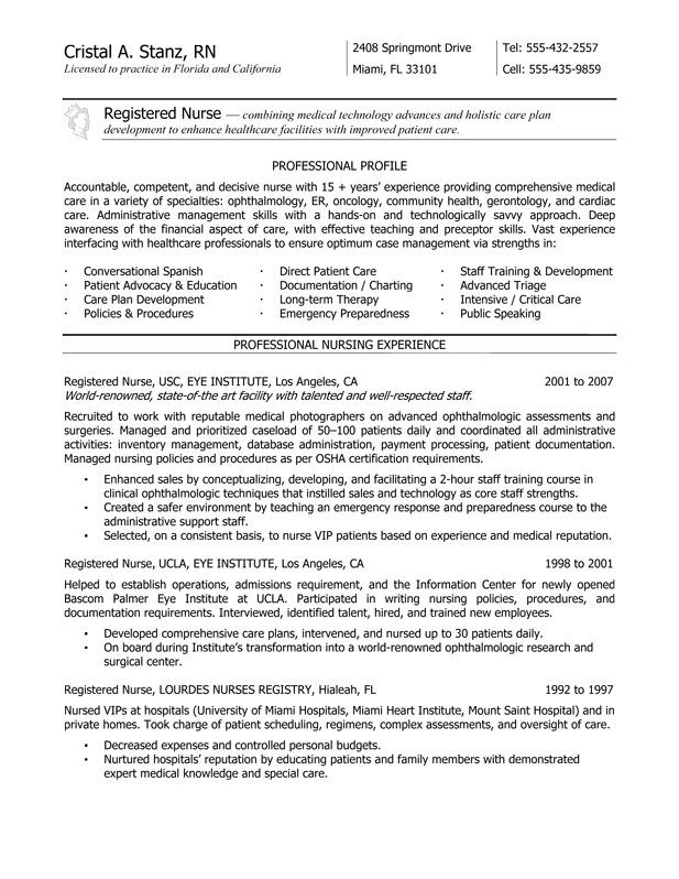 Nurse Resume Example Sample Normal Bmi Chart Orvis Center Com Nurse Resume  Example Sample Education And