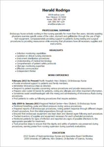 endoscopy-nurse-resume-templates