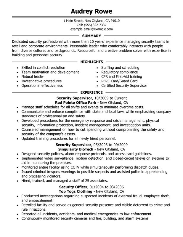 Management Resume Templates | Resume Templates
