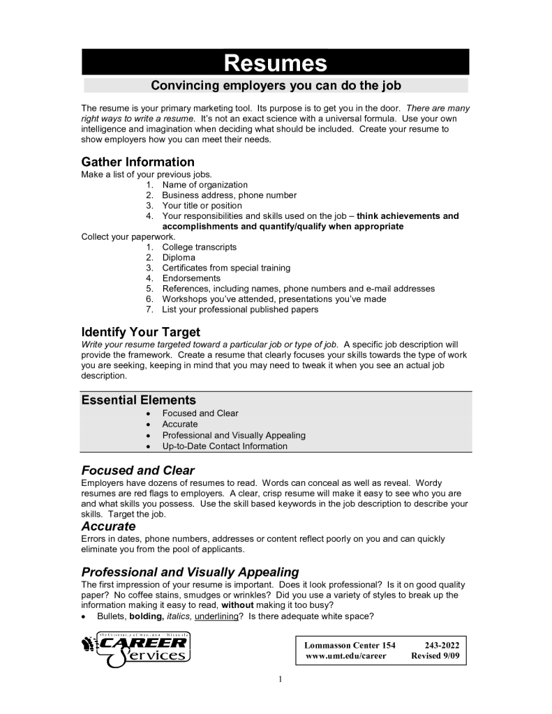 we recommend that you go ahead and grab a hold of these student and intern resume and cover letter templates today to help you land your dream job - Job Resume Sample In Word Format
