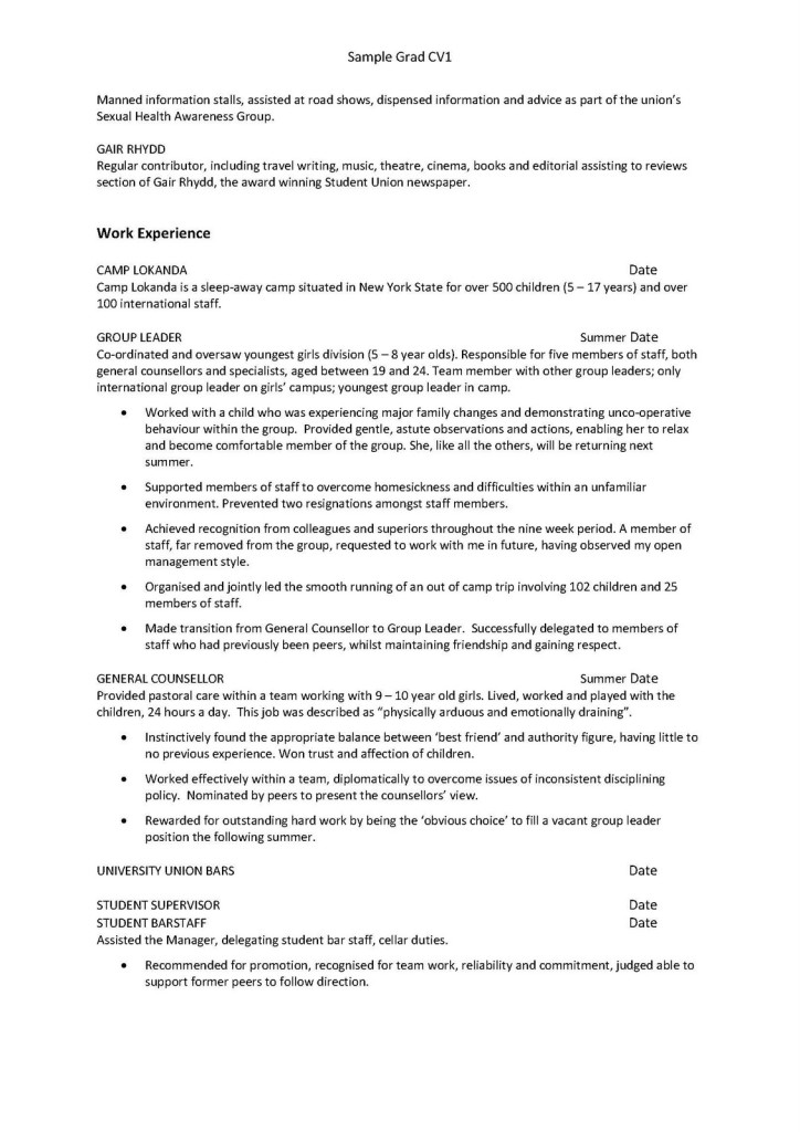 First Time Job Resume Examples | Resume Examples And Free Resume