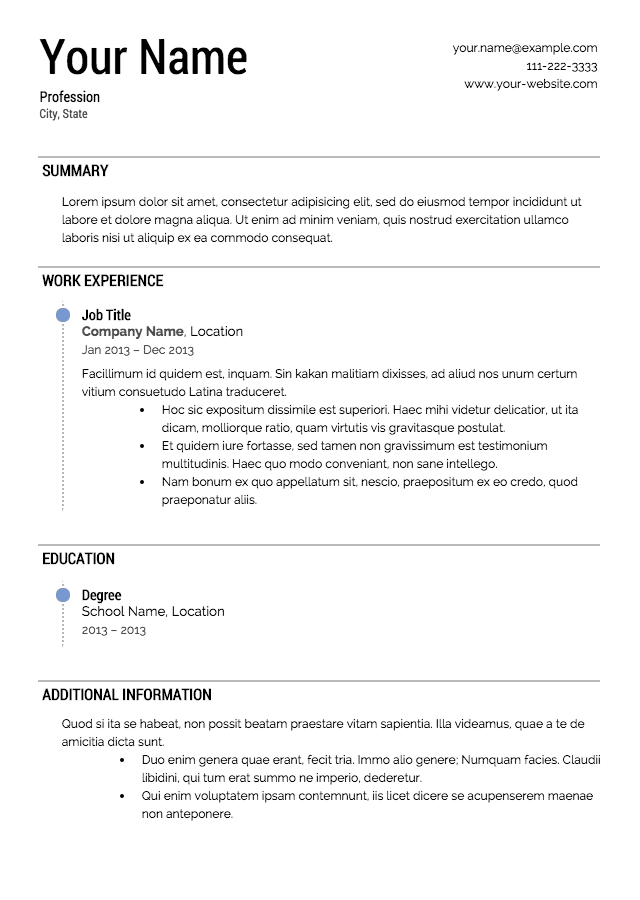 marketing resume template professional - Pharmacist Resume Template