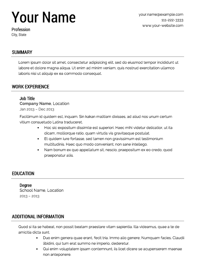 pdfs-resume-template-professional