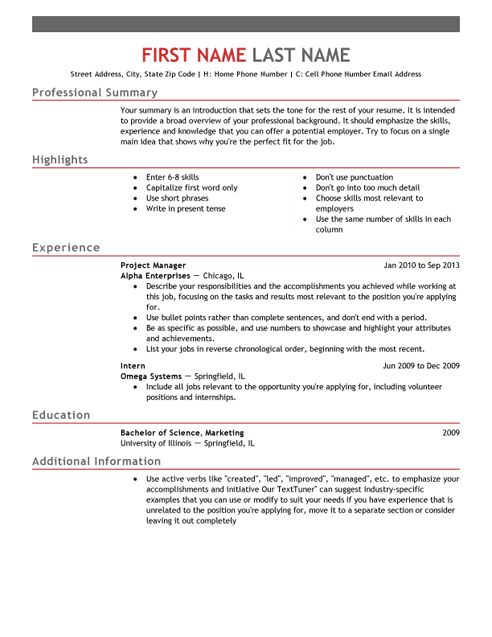 10 Powerful Resume Templates Resume Templates