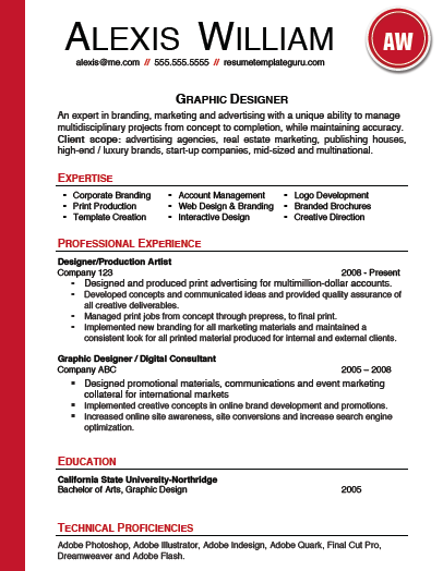 High Quality Resume Templates