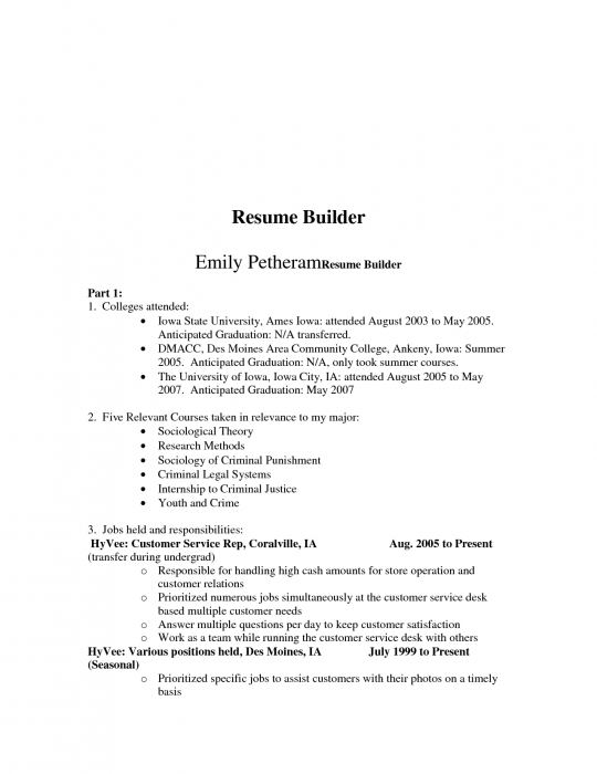 free resume builder top resume free resume maker online - Free Resume Builder Online Printable