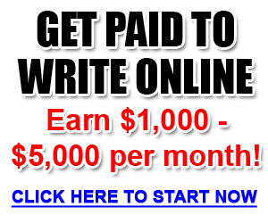 get paid online - writing resumes
