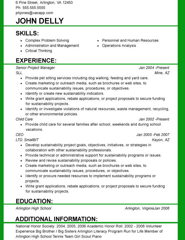 Functional Resume Template Download Doc Pdf Resume Templates